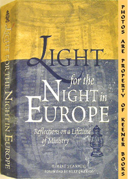 Image for Light For The Night In Europe (Reflections On A Lifetime Of Ministry)