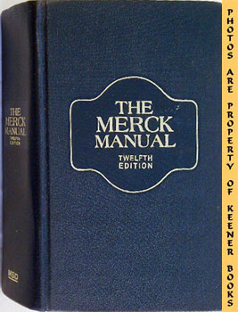 Image for The Merck Manual Of Diagnosis And Therapy: Twelfth -12- Edition