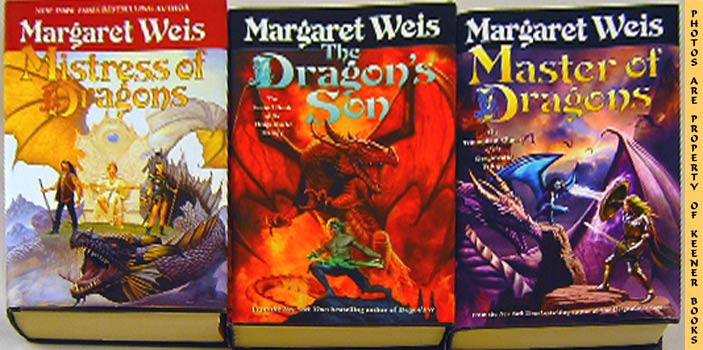 Image for The Complete Dragonvarld Trilogy (Three -3- Books: Mistress Of Dragons, The Dragon's Son & Master Of Dragons)