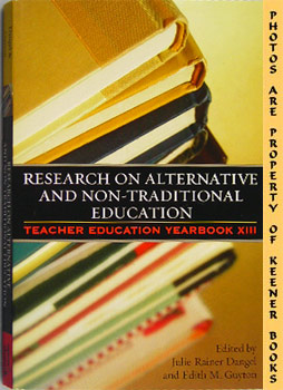 Image for Research On Alternative And Non-Traditional Education (Teacher Education Yearbook XIII)