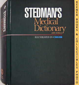 Image for Stedman's Medical Dictionary (26th Edition - Illustrated In Color)