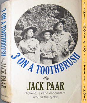 Image for Three On A Toothbrush (Adventures And Encounters Around The Globe)