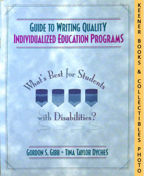 Image for Guide To Writing Quality Individualized Education Programs (What's Best For Students With Disabilities?)