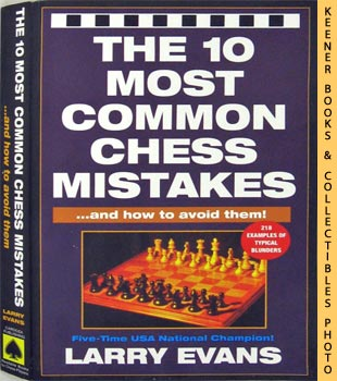 Image for The 10 Most Common Chess Mistakes - And How To Avoid Them!
