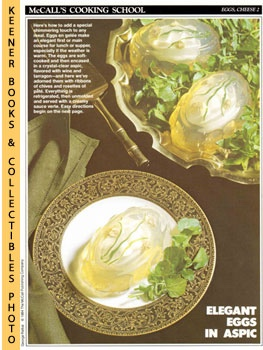 Image for McCall's Cooking School Recipe Card: Eggs, Cheese 2 - Eggs en Gelee (Replacement McCall's Recipage or Recipe Card For 3-Ring Binders): McCall's Cooking School Cookbook Series