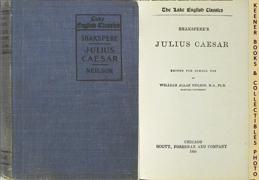 Image for Shakspere's Julius Caesar: The Lake English Classics Series