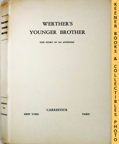 Image for Werther's Younger Brother : The Story Of An Attitude