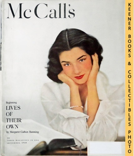 Image for McCall's Magazine: September 1948 Vol. LXXV, No. 12 Issue : Three Magazines In One