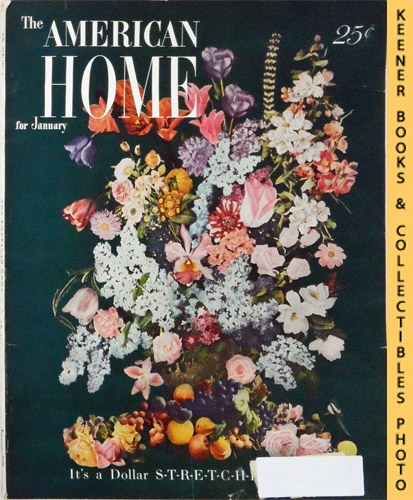 Image for The American Home Magazine: January 1949, Vol. XLI No. 2 Issue