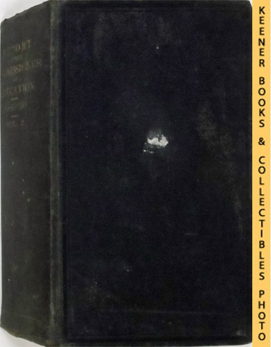 Image for Report of the Commissioner of Education for the Year 1889-1890: Volume 2 Containing Parts II And III