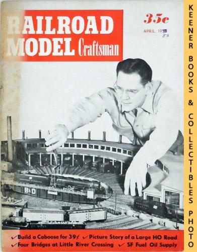 Image for Railroad Model Craftsman Magazine, April 1953 (Vol. 21, No. 11)