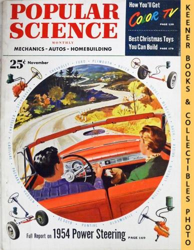 Image for Popular Science Monthly Magazine, November 1953 (Vol. 163, No. 5) : Mechanics - Autos - Homebuilding