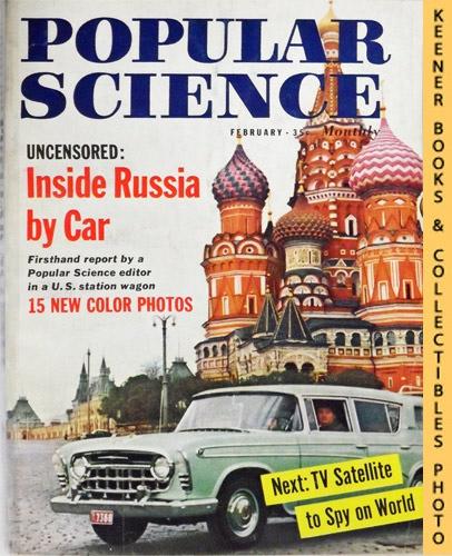 Image for Popular Science Monthly Magazine, February 1958 (Vol. 172, No. 2) : Mechanics - Autos - Homebuilding