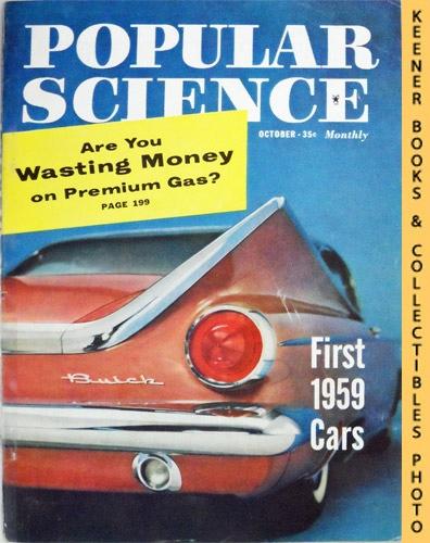 Image for Popular Science Monthly Magazine, October 1958 (Vol. 173, No. 4) : Mechanics - Autos - Homebuilding