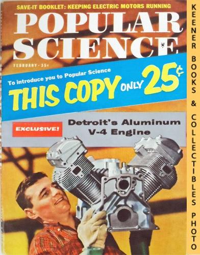Image for Popular Science Monthly Magazine, February 1959 (Vol. 174, No. 2) : Mechanics - Autos - Homebuilding