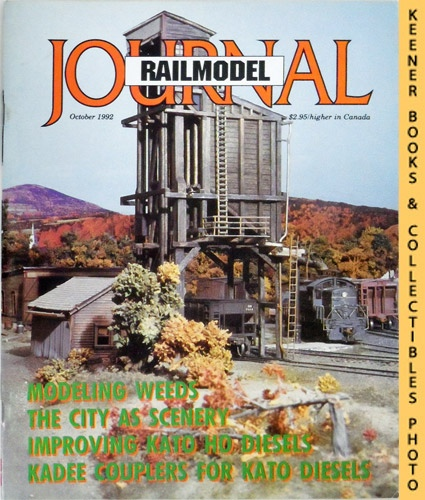 Image for Railmodel Journal Magazine, October 1992 (Vol. 4, No. 5)