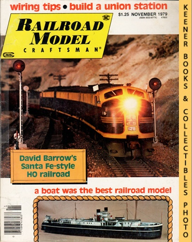 Image for Railroad Model Craftsman Magazine, November 1979 (Vol. 48, No. 6)