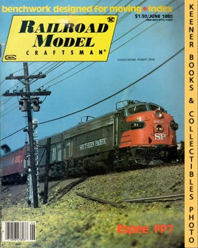 Image for Railroad Model Craftsman Magazine, June 1980 (Vol. 49, No. 1)