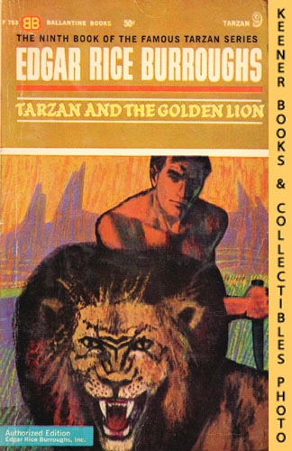 Image for Tarzan And The Golden Lion: F-753: Tarzan 9: The Famous Tarzan Series by Edgar Rice Burroughs Series