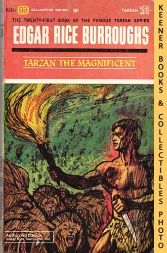 Image for Tarzan The Magnificent: U2021: Tarzan 21: The Famous Tarzan Series by Edgar Rice Burroughs Series