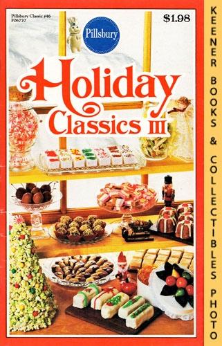 Image for Pillsbury Classics No. 46: Holiday Classics III: Pillsbury Classic Cookbooks Series