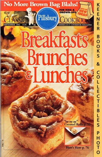 Image for Pillsbury Classic #139: Breakfasts, Brunches & Lunches: Pillsbury Classic Cookbooks Series