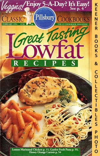 Image for Pillsbury Classic #156: Great Tasting Lowfat Recipes: Pillsbury Classic Cookbooks Series