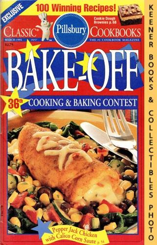 Image for Pillsbury Classic #157: Pillsbury Bake-Off 36th Cooking & Baking Contest: Pillsbury Classic Cookbooks Series