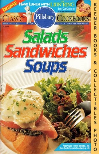 Image for Pillsbury Classic #170: Salads Sandwiches Soups: Pillsbury Classic Cookbooks Series