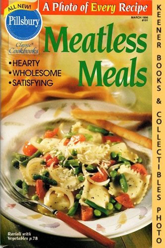 Image for Pillsbury Classic #181: Meatless Meals: Pillsbury Classic Cookbooks Series