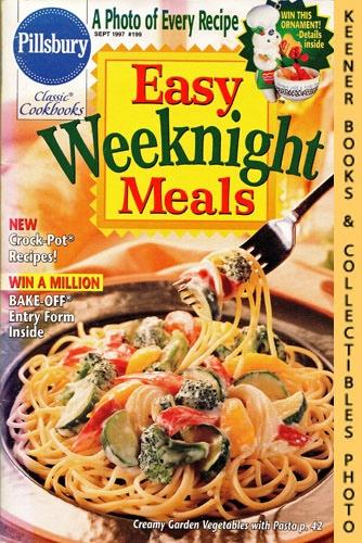 Image for Pillsbury Classic #199: Easy Weeknight Meals: Pillsbury Classic Cookbooks Series