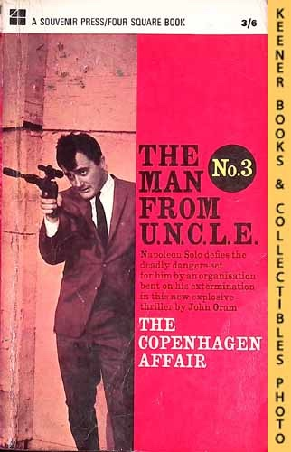 Image for The Man From U.N.C.L.E., The Copenhagen Affair : UK Edition, No. 3: Man From UNCLE / U.N.C.L.E. Series
