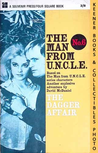 Image for The Man From U.N.C.L.E., The Dagger Affair : UK Edition, No. 6: Man From UNCLE / U.N.C.L.E. Series