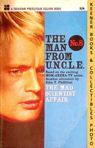 Image for The Man From U.N.C.L.E., The Mad Scientist Affair : UK Edition, No. 8: Man From UNCLE / U.N.C.L.E. Series