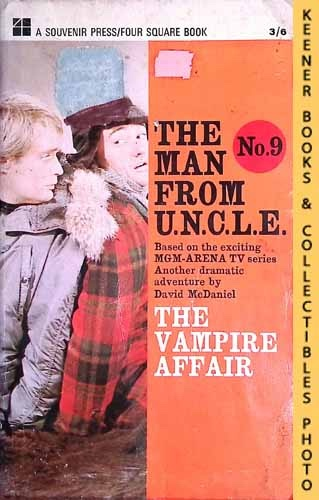 Image for The Man From U.N.C.L.E., The Vampire Affair : UK Edition, No. 9: Man From UNCLE / U.N.C.L.E. Series