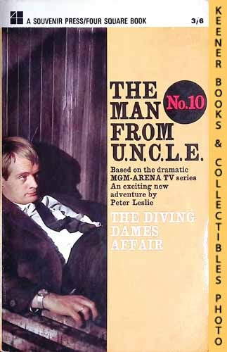 Image for The Man From U.N.C.L.E., The Diving Dames Affair : UK Edition, No. 10: Man From UNCLE / U.N.C.L.E. Series