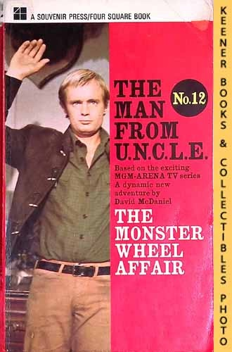 Image for The Man From U.N.C.L.E., The Monster Wheel Affair : UK Edition, No. 12: Man From UNCLE / U.N.C.L.E. Series