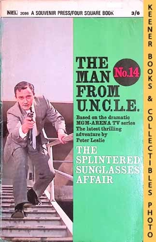 Image for The Man From U.N.C.L.E., The Splintered Sunglasses Affair : UK Edition, No. 14: Man From UNCLE / U.N.C.L.E. Series