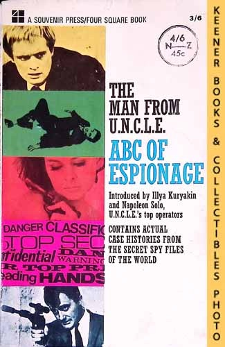 Image for The Man From U.N.C.L.E.,  ABC Of Espionage : UK Edition: Man From UNCLE / U.N.C.L.E. Series
