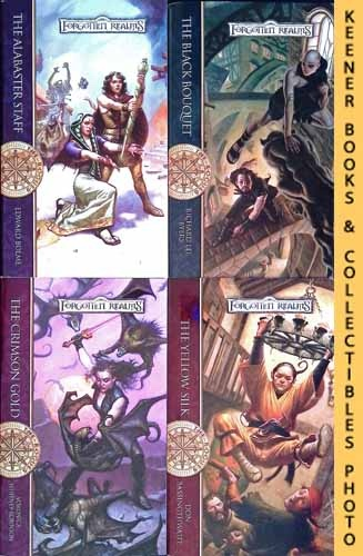 Image for Forgotten Realms - The Rogues Four Book Set : The Alabaster Staff, Book 1 / The Black Bouquet, Book 2 / The Crimson Gold, Book 3 /  The Yellow Silk, Book 4